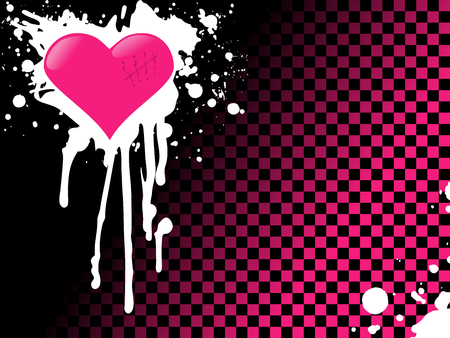 Urban style emo background with bright colors. Graphics are grouped and in several layers for easy editing. The file can be scaled to any size.