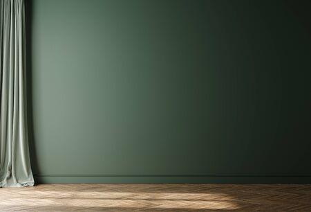 Photo pour Empty home interior wall mock-up, 3d render - image libre de droit