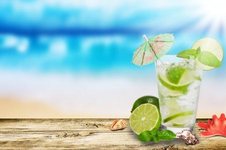 Photo pour Summer drink - image libre de droit