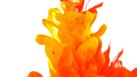 Photo pour Abstract coloured ink in water - image libre de droit