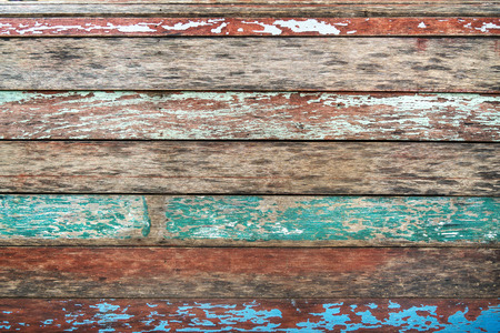 Foto de Vintage wood background. grunge color texture - Imagen libre de derechos