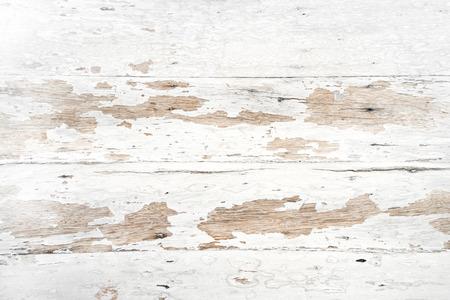 Photo pour Old and grunge white wood texture - vintage background - image libre de droit