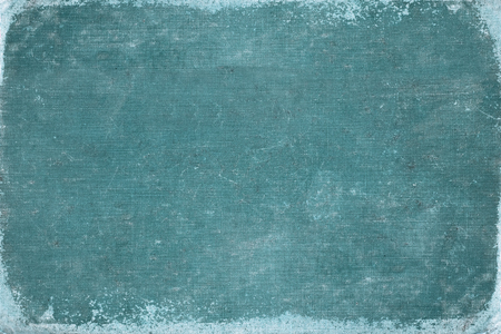 Foto de vintage blue book cover. canvas texture. use for background. - Imagen libre de derechos