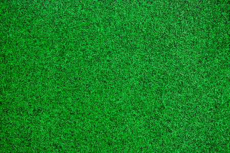 Photo pour Green artificial grass top view background. - image libre de droit
