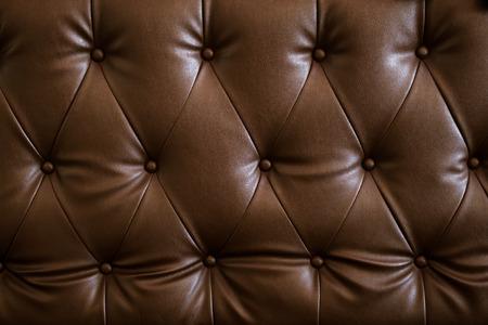 Photo pour Vintage brown pattern of sofa. leather  texture - image libre de droit
