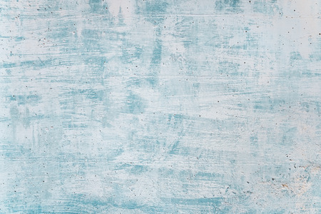 Photo pour Blank grunge concrete wall blue sea color paint for texture. vintage background - image libre de droit