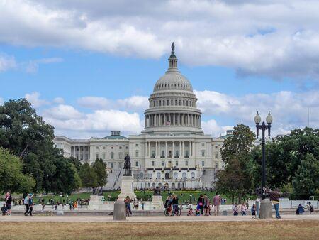 Foto de Washington DC, District of Columbia [United States US Capitol Building, architecture detail] - Imagen libre de derechos