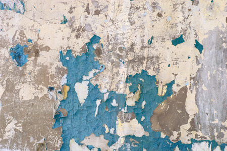 Photo pour Peeling paint on wall seamless texture pattern of rustic grunge material. - image libre de droit