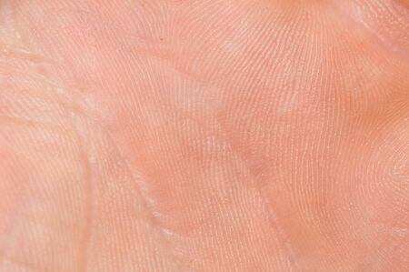 Photo pour Macro of human skin. Human skin texture - image libre de droit