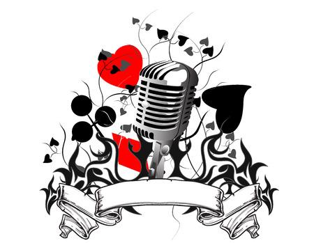 Illustrazione per music - Immagini Royalty Free