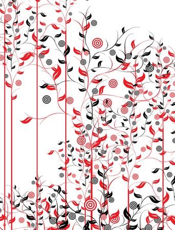 Illustration for floral - Royalty Free Image