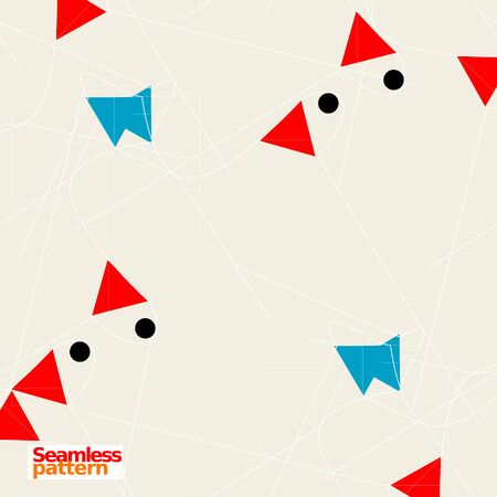 Photo pour Seamless pattern - image libre de droit