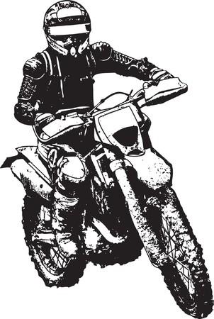 Illustration pour motorbike - image libre de droit