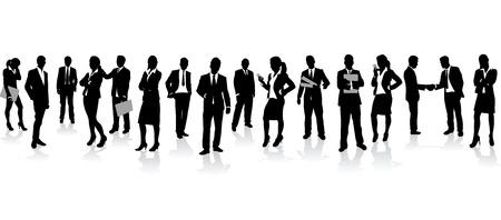 Illustration pour business people background - image libre de droit