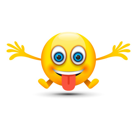 tongue out happy emoji