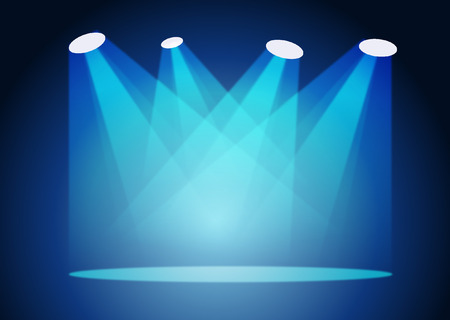Illustration pour SPOT LIGHTS - image libre de droit
