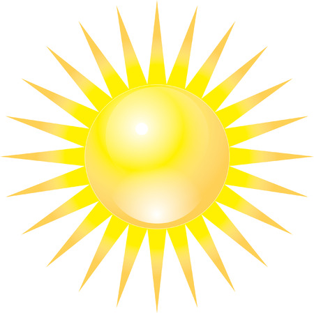 Illustration for SUN - Royalty Free Image