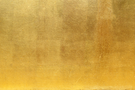Foto de Golden wall for background or texture - Imagen libre de derechos