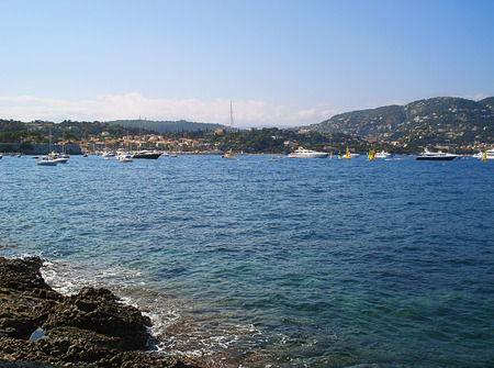 Saint-Jean-Kap-Ferra is a small village on the cape of French Riviera acting in the sea. Yachts often stop on raid in its gulf because their crew is fascinated by beauty of this place