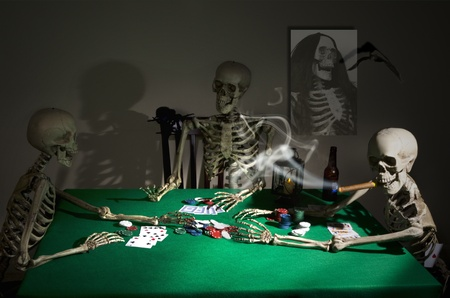 Midnight Poker Game