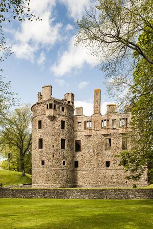 Huntly Castle in Scotland.