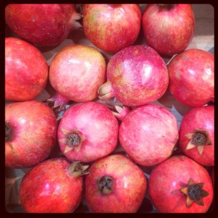 Yummy pomegranates
