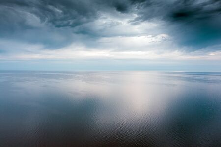 Photo for Morning light on gulf of Riga, Baltic sea. - Royalty Free Image