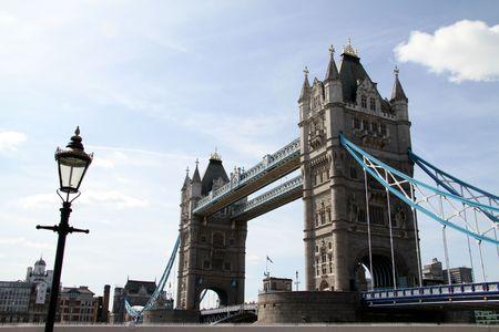 Tower bridge on the river thames london england