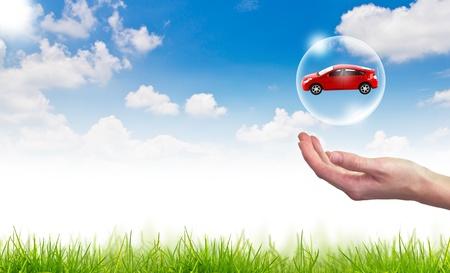 Photo pour New car concept - image libre de droit