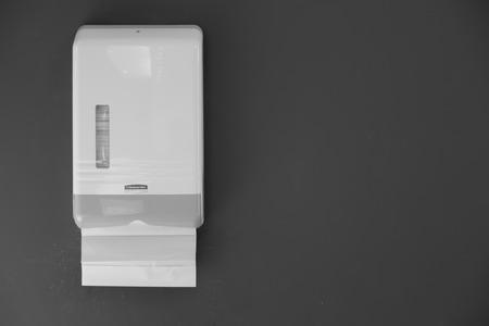 Toilet paper  ( Filtered image processed vintage effect. )