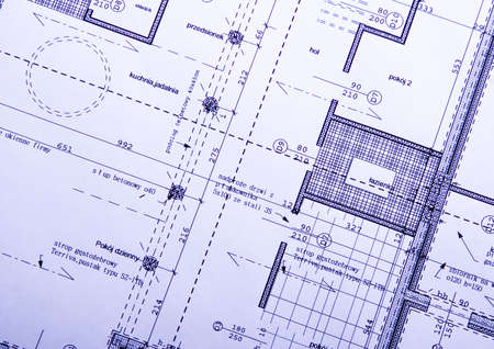 Photo for Architecture plan  - Royalty Free Image