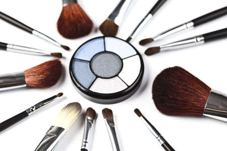 Palette of eyeshadows