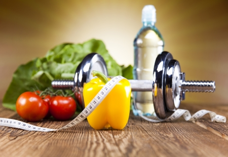 Foto de Diet and fitness - Imagen libre de derechos
