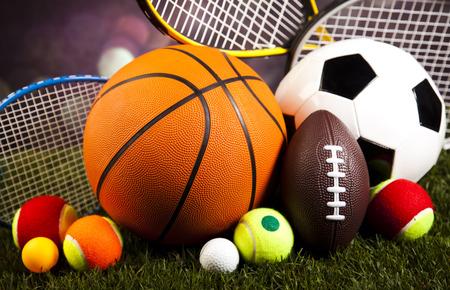 Photo pour Sports Equipment - image libre de droit