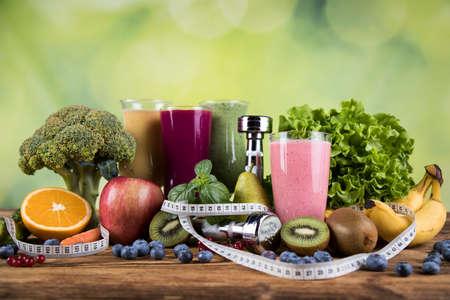 Photo pour Cocktail Sport diet - image libre de droit