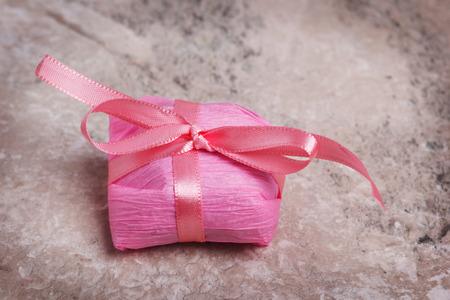 Bem-casado brazilian sweet for wedding present. Selective focus