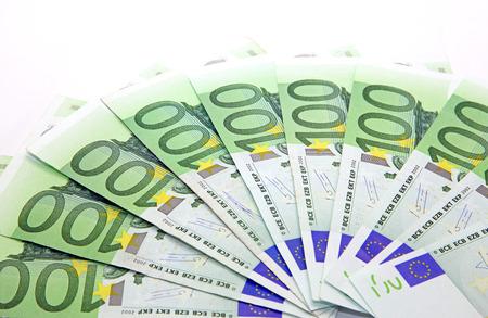 Isolated one thousand euros