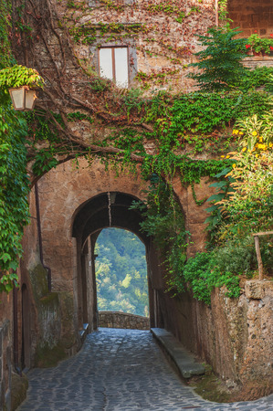Arches in a Tuscan Village