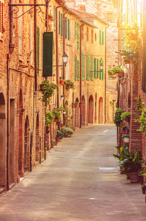 Old Street In Tuscany