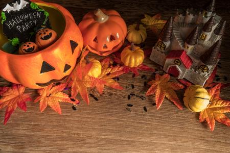 halloween pumpkin on wooden background fy31066446889