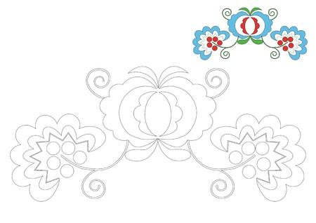 The Moravia ornament _coloring_1