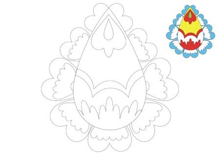 The Moravia ornament _coloring_7