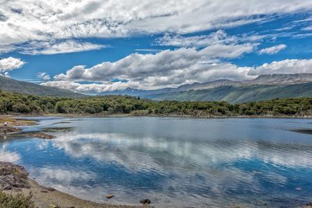 Tierra del Fuego National Park in Ushuaia, Argentina.