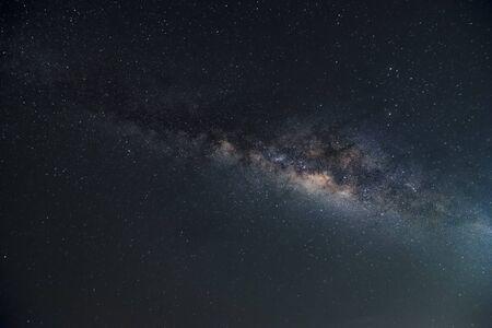 Photo pour A beautiful milkyway in space - image libre de droit