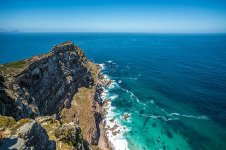 Photo pour Cape point, Cape Peninsula, South Africa - image libre de droit