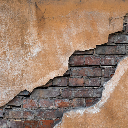 Foto de Old grunge brick wall. Nice vintage background. - Imagen libre de derechos