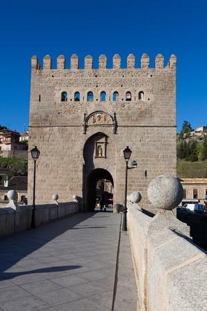 Bridge of San Martin, Toledo, Castilla la Mancha, Spain