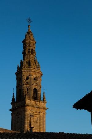 Bell tower of Briones, La Rioja, Spain