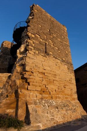 Walls of Briones, La Rioja, Spain