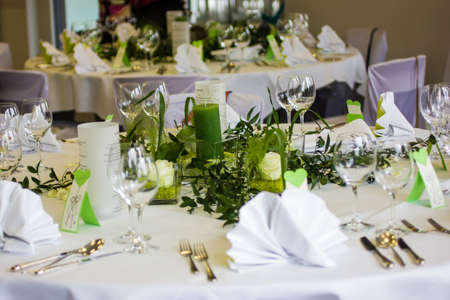 Foto für table decoration for wedding celebration - Lizenzfreies Bild